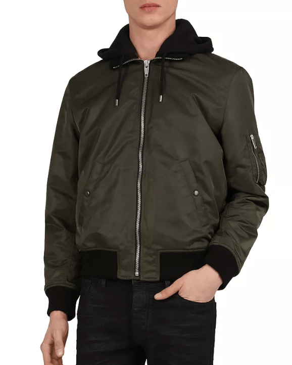 The Kooples Vintage Bomber Jacket