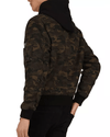 The Kooples Camouflage Hooded Zip-Front Jacket