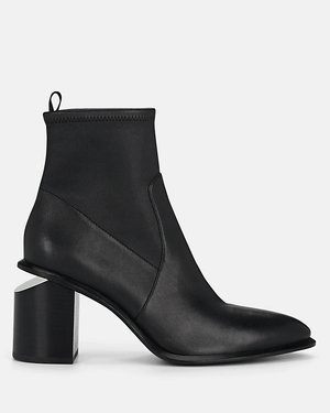 Alexander Wang Anna Stretch-Leather Ankle Boots