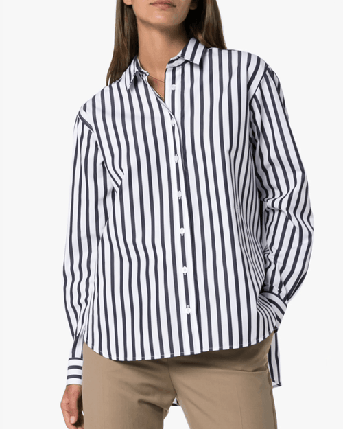 Toteme Capri Striped Cotton Shirt