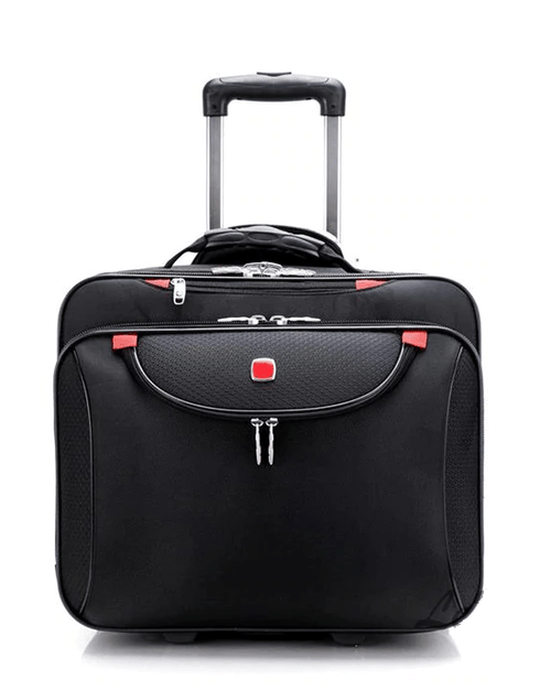 "BeaSumore 18"" Computer Trolley Travel Bag"