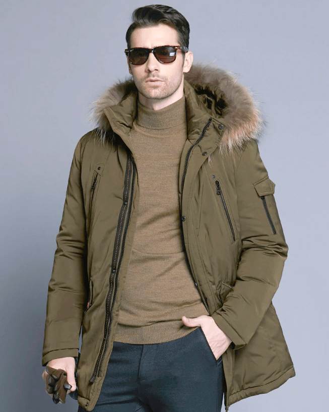 Ice Bear Man's Carson Down Parka