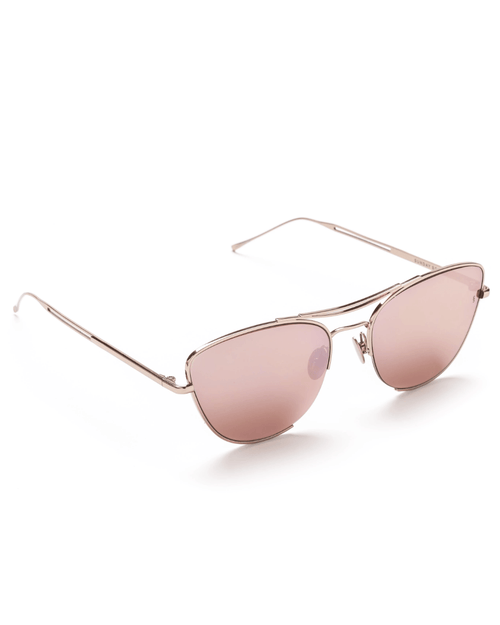 Sunday Somewhere Jar Jar Pink Gold Sunglasses