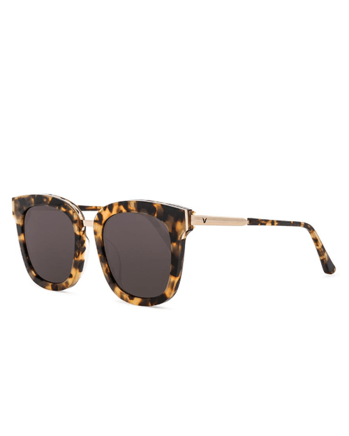 Gentle Monster Women's Brown Button Sunglasses