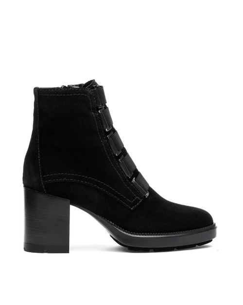 Aquatalia Women's Indira Boot Black Suede
