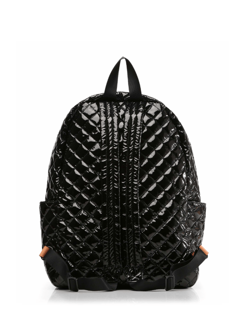 MZ Wallace Black Lacquer Metro Backpack