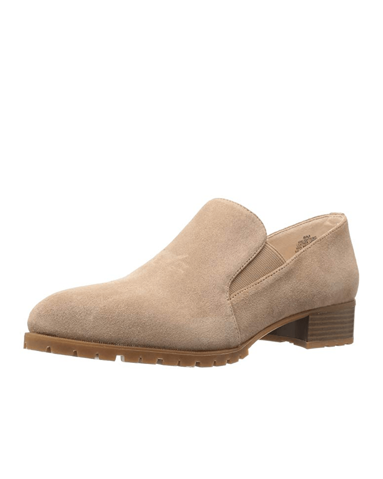 Nine West Women's Lightning Suede Slip-On Loafer