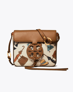Tory Burch Miller Clear Printed Crossbody