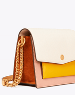 Tory Burch Robinson Colorblock Double Strap Convertible Bag