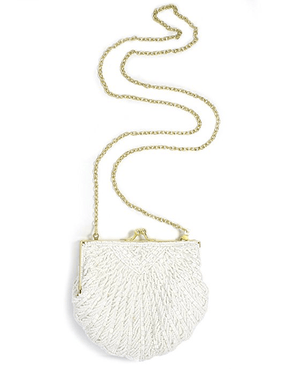 La Regale Shell Beaded Evening Clutch - Fashionbarn shop - 3