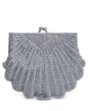 La Regale Shell Beaded Evening Clutch - Fashionbarn shop - 1