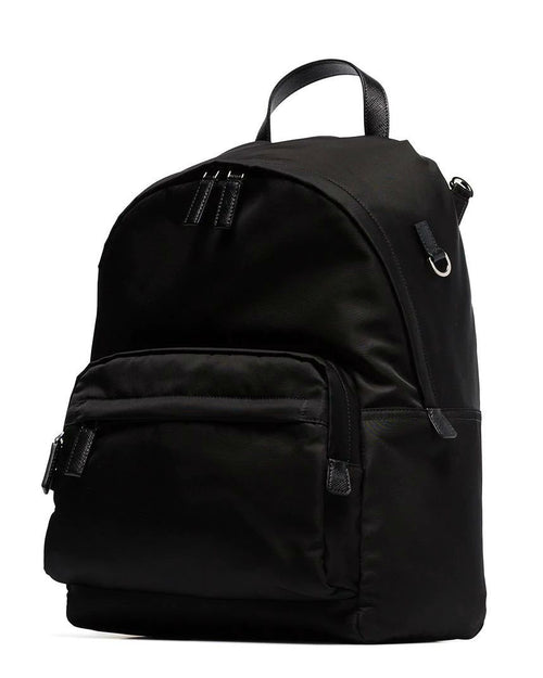 Prada Black Nylon Montagna Backpack