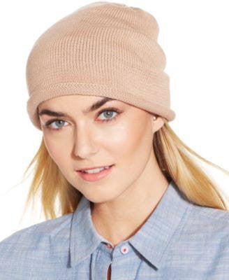 Collection XIIX Lightweight Rolled Edge Beanie Navy Night - Fashionbarn shop