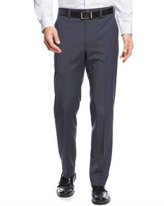 Lauren Ralph Lauren New Blue Neat Dress Pants-RALPH LAUREN-Fashionbarn shop