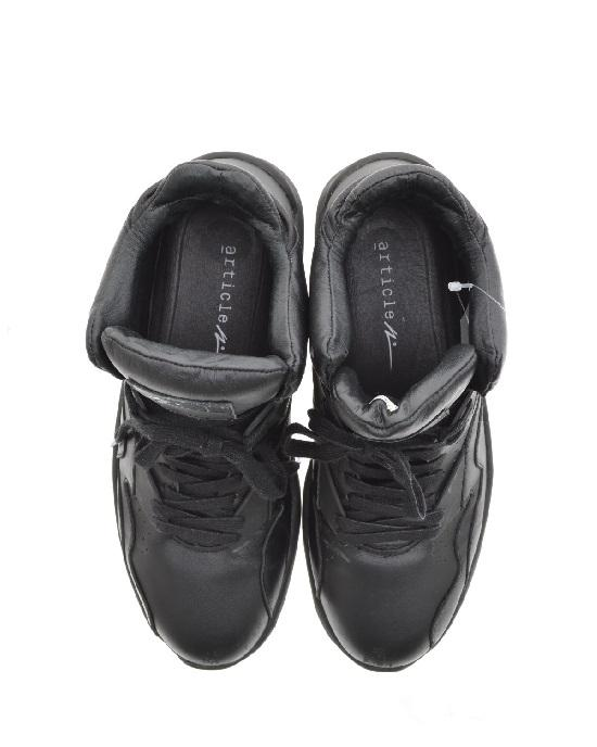 ARTICLE NUMBER 0629-0635 IN BLACK MEN SNEAKERS - LEATHER