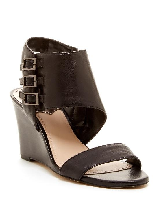 VINCE CAMUTO LYSSIA WEDGE SANDALS