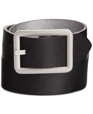 Style Co. Reversible Belt BlackSilver S - Fashionbarn shop