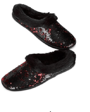 Charter Club Sequin Clog Memory Foam Slippers, Only at Macy's - Fashionbarn shop - 1