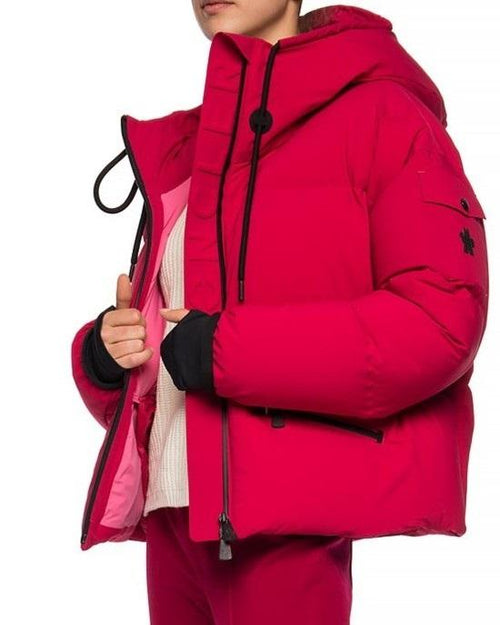 Moncler Grenoble Airy Down Puffer Jacket In Magenta