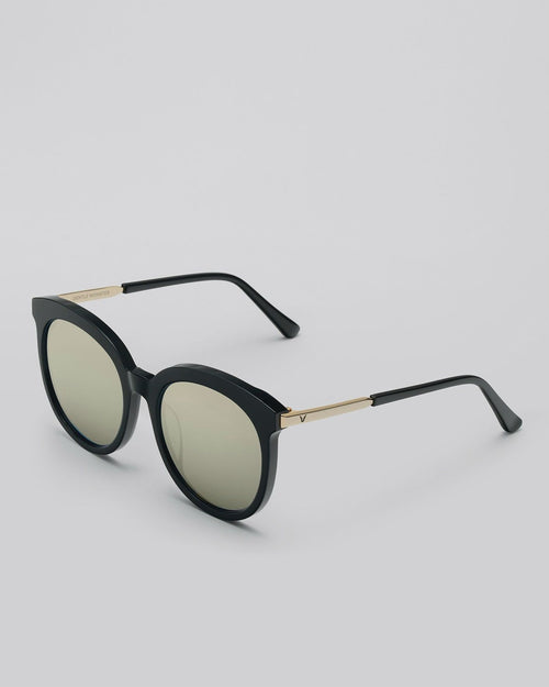 Gentle Monster Lovesome Tale 01 Gold Sunglasses