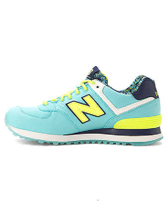 NEW BALANCE Blue Wl574 - Luau Collection-NEW BALANCE-Fashionbarn shop