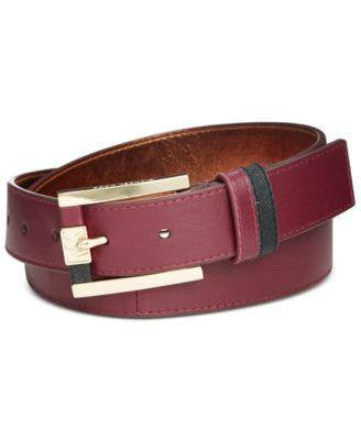 Michael Kors Lambskin Belt - Fashionbarn shop - 2