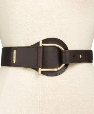 Michael Kors Tapered Pullback Belt Black - Fashionbarn shop