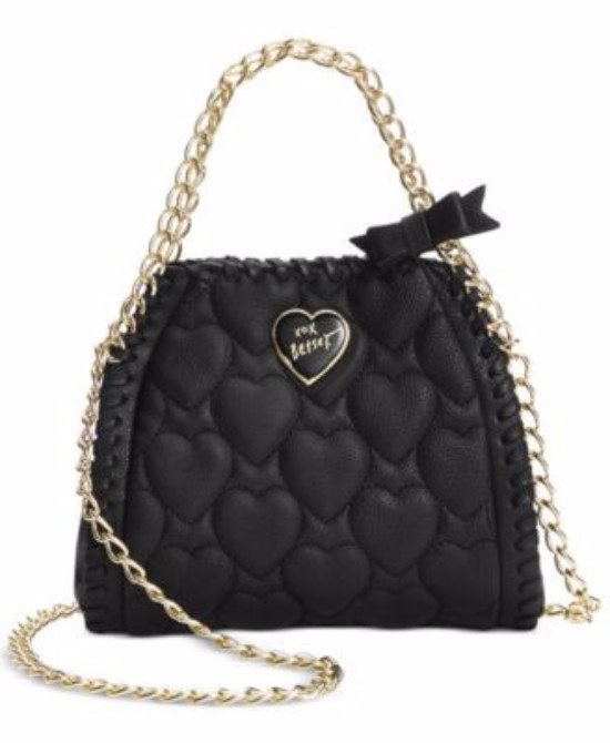 Betsey Johnson Mini Quilted Chain Handbag - Fashionbarn shop - 1