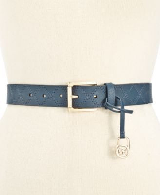 Michael Kors Saffiano Stitched Belt - Fashionbarn shop - 1