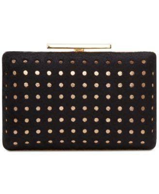 Vince Camuto Luv Minaudiere Black gold - Fashionbarn shop