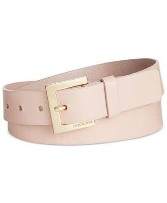 Michael Kors Logo Buckle Belt BrownBlack M - Fashionbarn shop