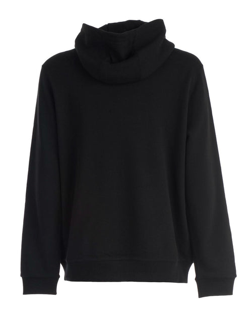 Burberry Logo and monogram-print cotton hooded sweatshirt