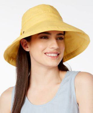 Scala Cotton Canvas Bow Kettle Hat - Fashionbarn shop - 2