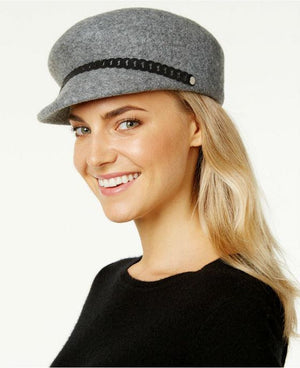 Nine West Felt Newsboy Hat Black - Fashionbarn shop - 3