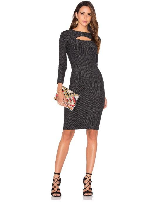 Bailey 44 Social Life Long Sleeve Knit Dress