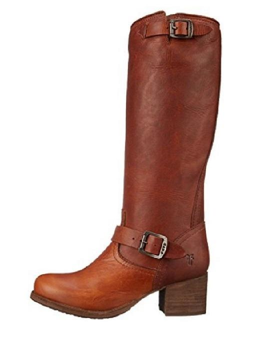 FRYE Vera Slouch Block-Heel Tall Boots