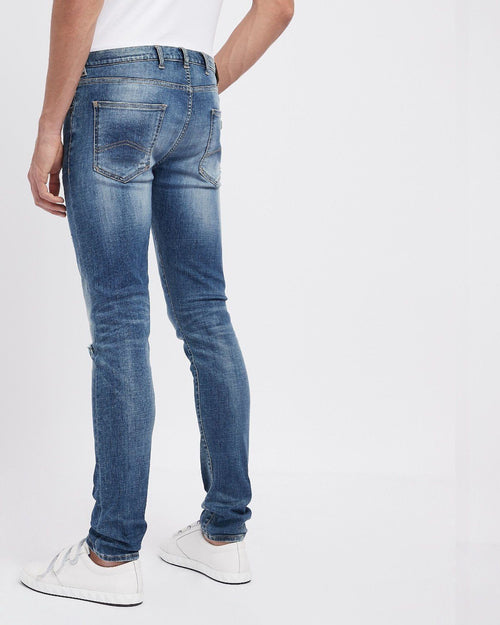 Emporio Armani J10 Extra Slim-Fit Cotton Twill Denim Jeans