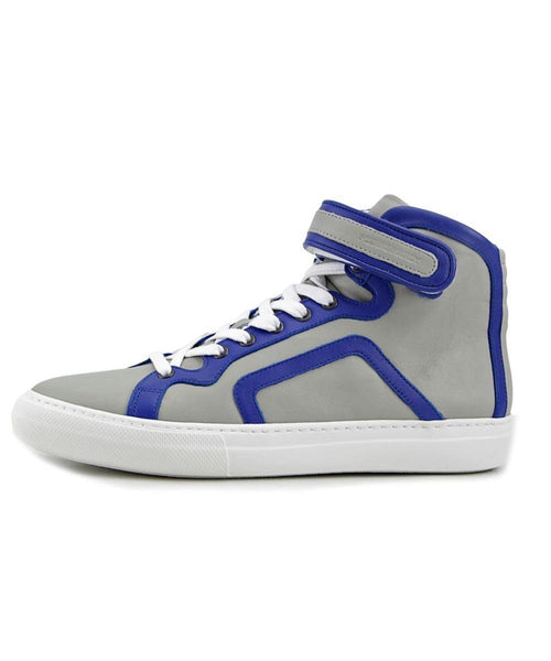 Pierre Hardy Trim Leather Sneakers