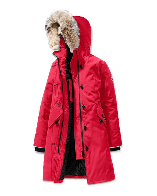 Canada Goose Youth Brittania Parka With Removable Fur Trim