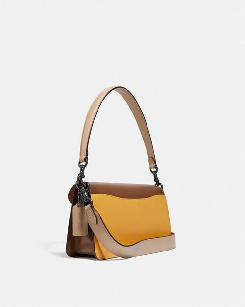 Coach Tabby Shoulder Bag 26 In Colorblock Signature Canvas