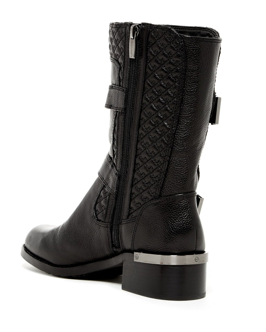 Vince Camuto Welton Women Black Mid Calf Boot