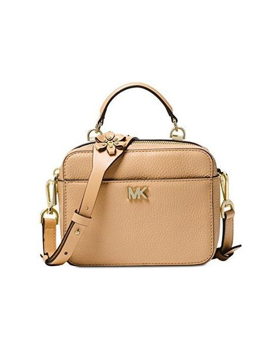 MICHAEL Michael Kors Mott Mini Sunflower Leather Crossbody