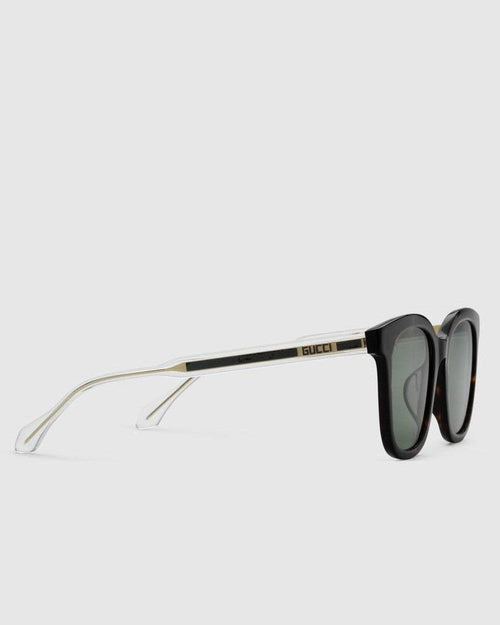 Gucci Specialized Fit Square Acetate Men's Sunglasses
