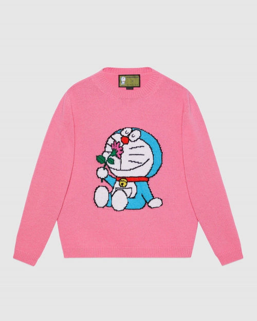 Gucci X Doraemon Wool Sweater
