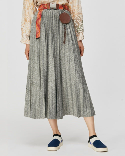 Max & Co Jersey Pleated Skirt