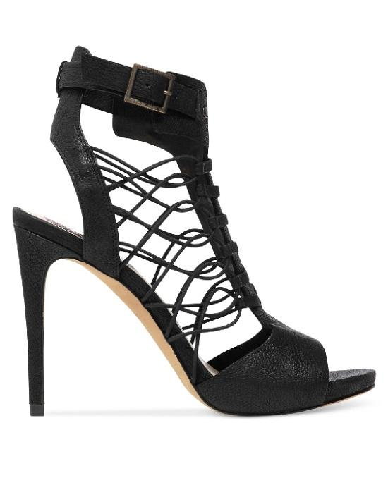 Vince Camuto Women's Black Fossel Gladiator Sandals