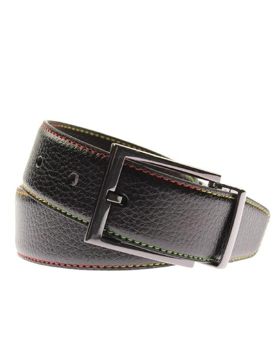 Robert Graham Summerland Faux Leather Reversible Casual Belt