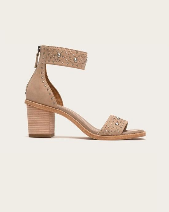 FRYE Women's Brielle Deco Back Zip Dress Sandal