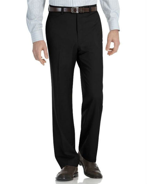 Calvin Klein Modern-Fit Microfiber Dress Pants-CALVIN KLEIN-Fashionbarn shop