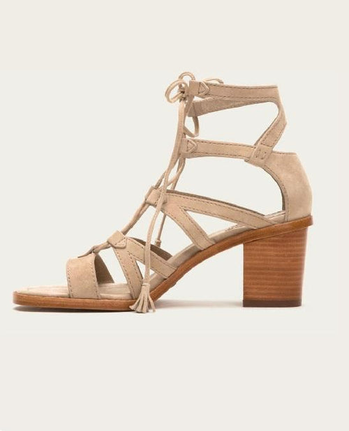 FRYE Women's Brielle Gladiator Lace Dress Sandal